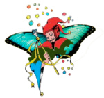 Joker-papillon