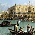 Largest-ever display of canaletto paintings in scotland goes on show at the queen's gallery, palace of holyroodhouse