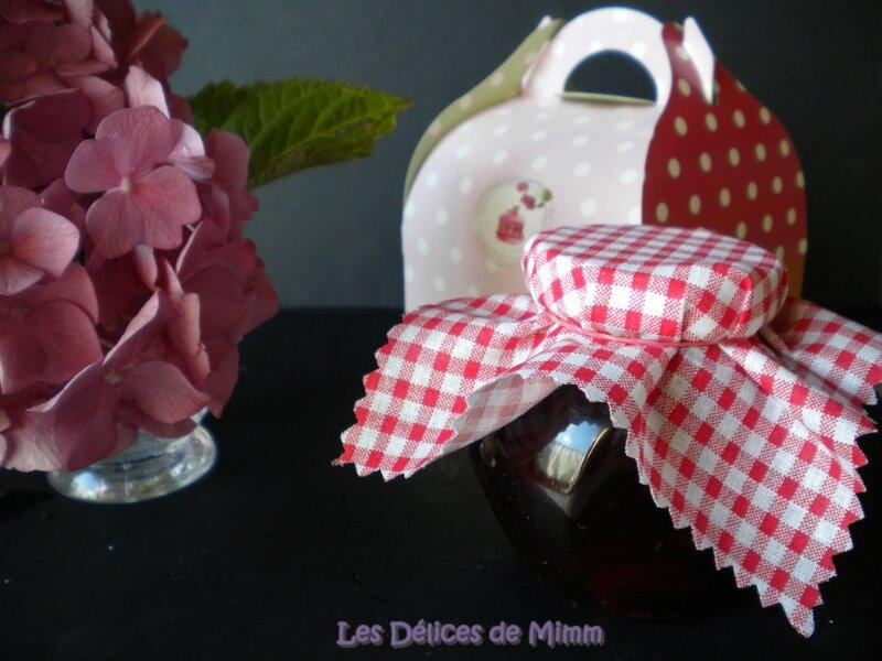 Confiture de cerises noires parfumée au kirsch 5