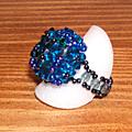 Chardon bleu profil