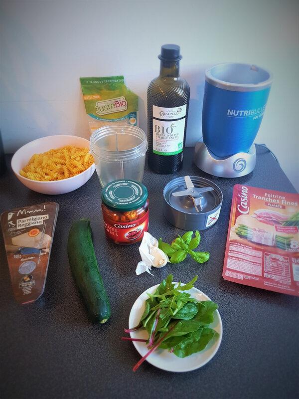chez cathytutu pesto rosso pates cyril lignac tous en cuisine m6 (2)