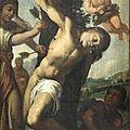 Ecole italienne xviième siècle, saint sébastien