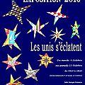 Exposition à l'atelier patchwork de léognan.