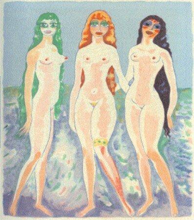 Les_femmes_colombes_1955_de_Kees_Van_Dongen