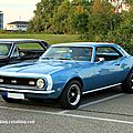 Chevrolet camaro SS coupé de 1968 (Rencard Burger King septembre 2011) 01
