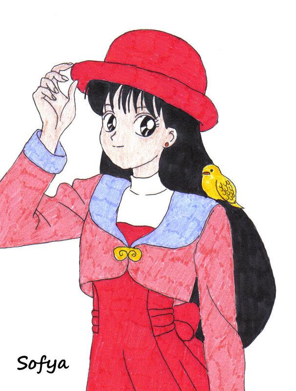 1166) Sailor Mars