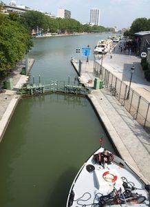 écluse n°1 et bassin de la Villette