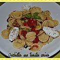 Pâtes aux tomates cerises