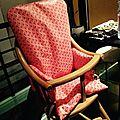 Housse de chaise haute, par kro qui pique