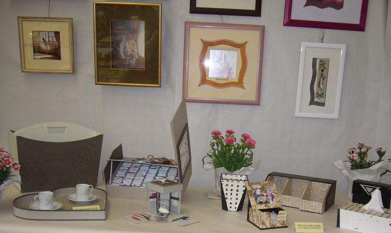 Expo cartonnage Sorges 1 2010