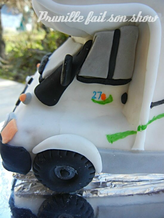 camping car cake prunille fait son show