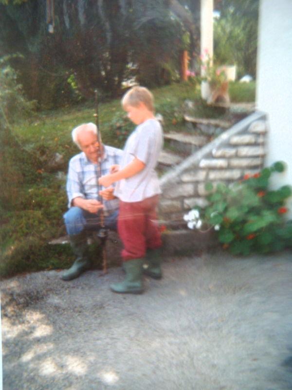 Papy et Arthur -