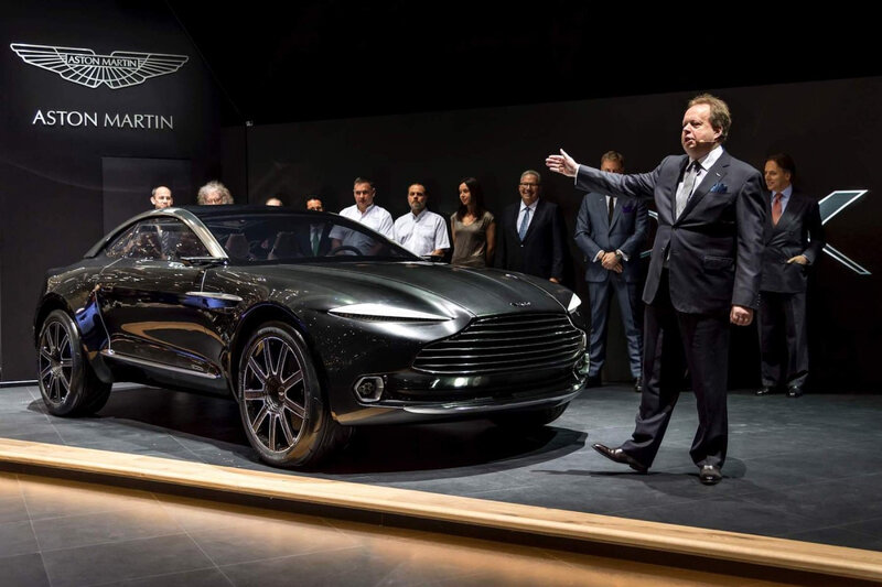 THE WORLD OF ASTON MARTIN DBX ANDY PALMER