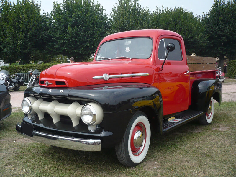FORD F-1 2door pick-up Saverne (1)