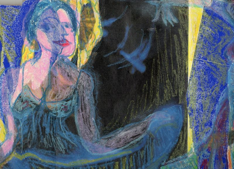 la danseuse bleue