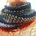 Snood double en vente sur ma boutique