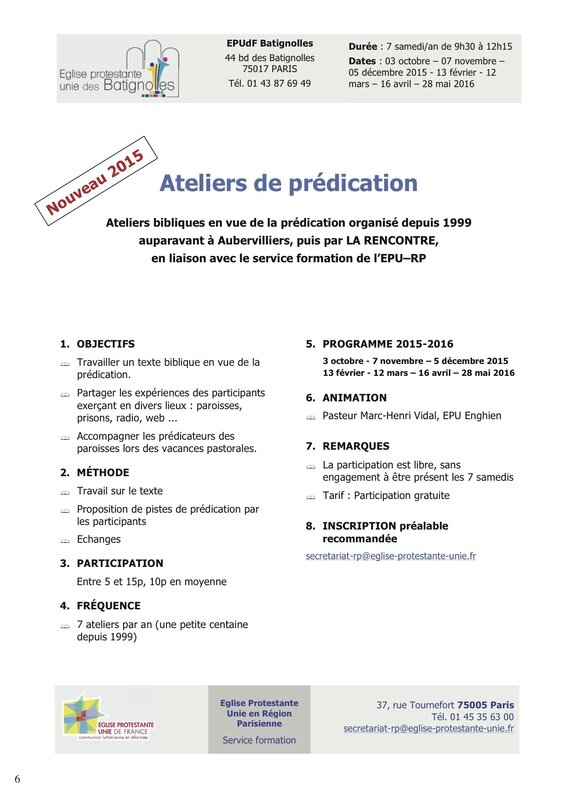 Formations EPU-RP 2015-2016 -atelier