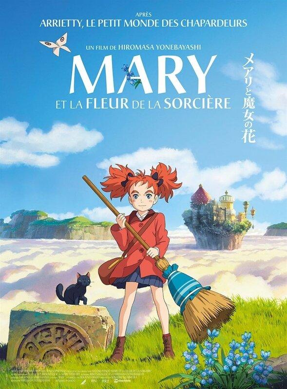 Mary Fleur Sorcière Affiche