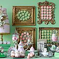 Sweet table ou table gourmande laduree trop macaron !