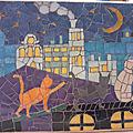 Les ateliers ont repris avec mosaïque et tesselles