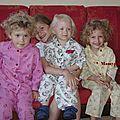 les pyjamas des quatre