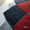 Super Giant dalhia - long arm quilting