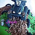 Gâteau quad - quad cake