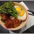 Porc braisé à la japonaise (kakuni)