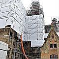 2123 - 23.10.2019 - Hondschoote - démontage toiture