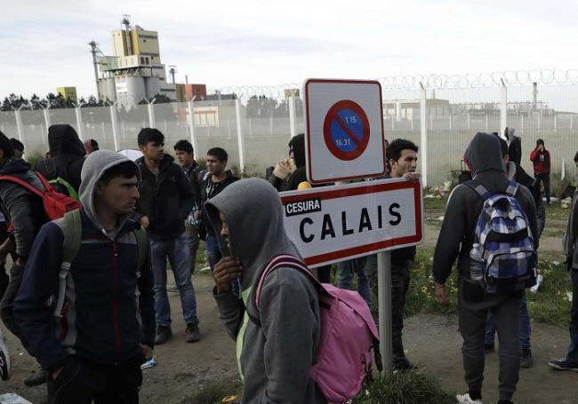 Migrants Calais