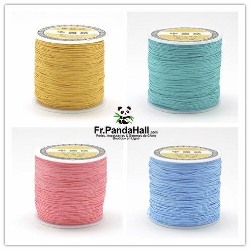 fil de nylon tressé