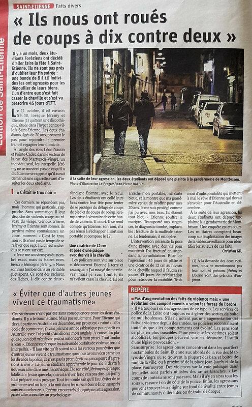 saint etienne stéphanois violence racailles justice laxiste