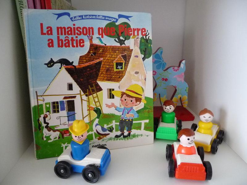 La maison que Pierre a bâtie ; Collection Belles histoires