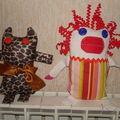animaux et clown