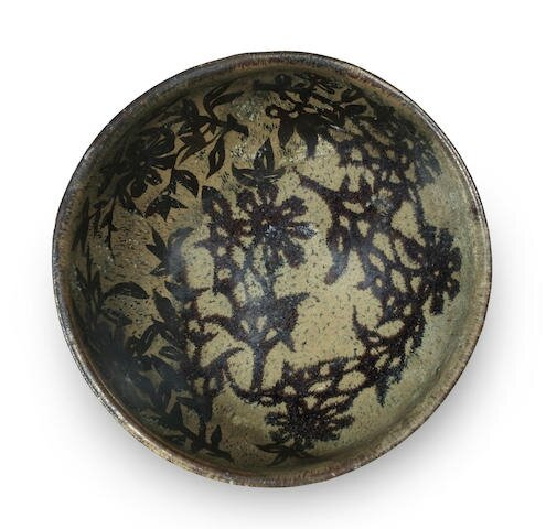 A Jizhou resist-decorated bowl, Southern Song Dynasty