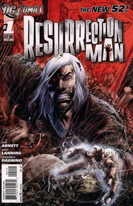 new 52 resurrection man 01 2e print