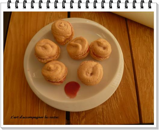 Macarons à la fraise1