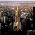 Vue de l'Empire State - Chrysler Building