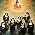 Les bienheureuses martyres visitandines de madrid