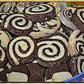 Les sablés vanille-chocolat