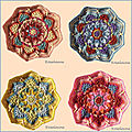 Persian tiles eastern jewels: 4 nouveaux octogones