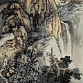 Zhang daqian (chang dai-chien) 1899-1983, recluse in lofty mountain
