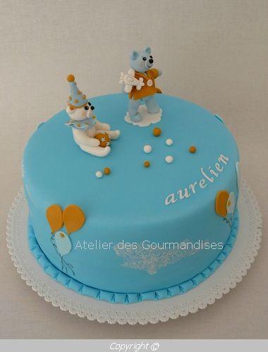 Gâteau baptême Nimes