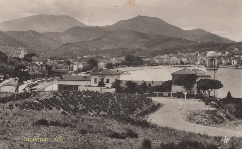 658 La Plage vers Miramar 1951