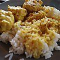 Boulettes de poissons au lait de coco & curry