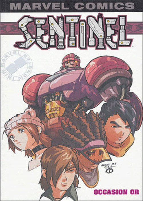 marvel monster sentinel 01 occasion en or