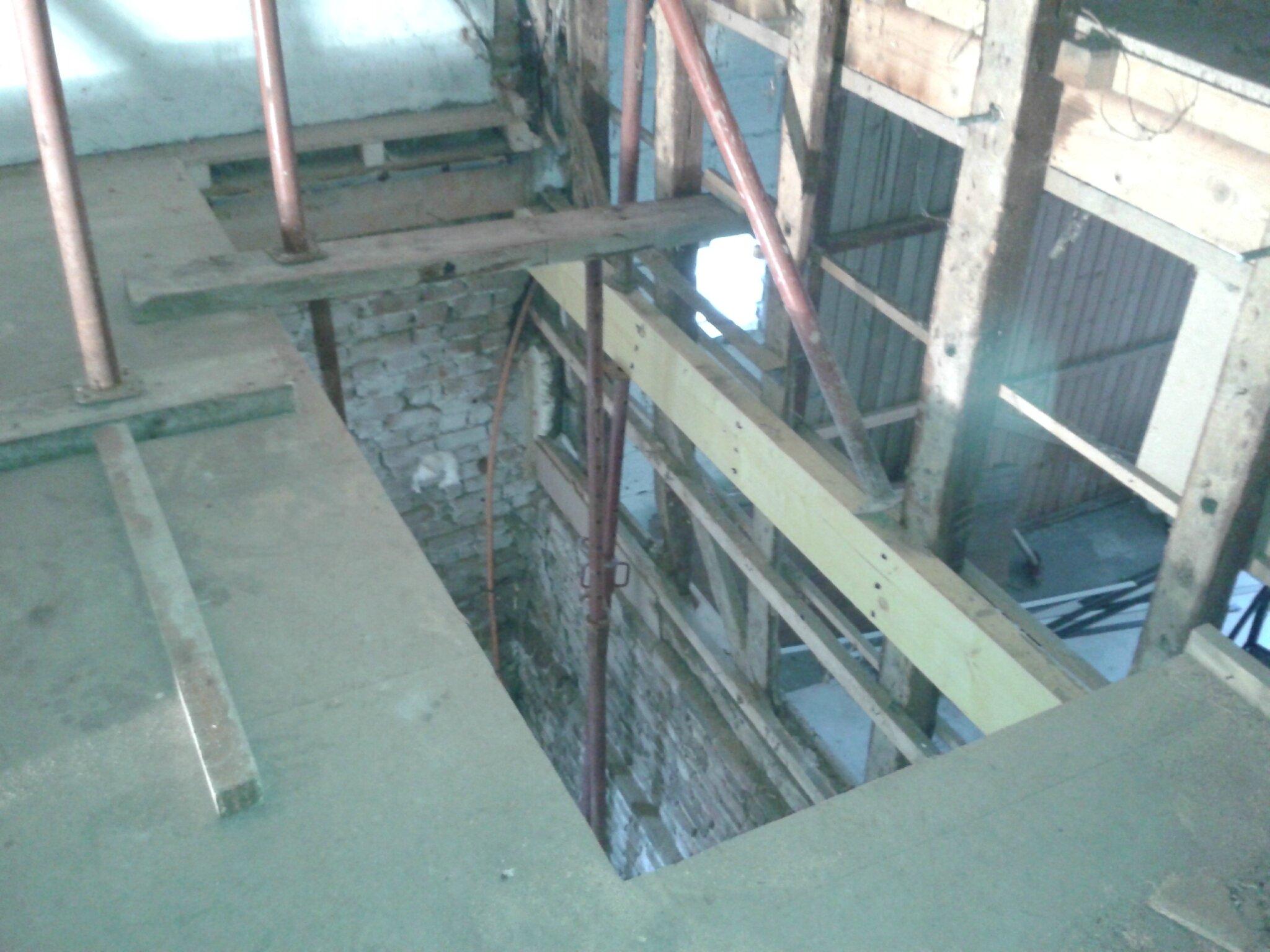 Creation D Une Tremie Escalier structure plafond et trémie escalier - transformation d'une