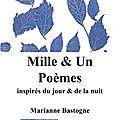 """""""mille & un poèmes inspirés du jour & de"""