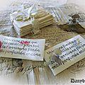 Messages fleuris