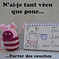 cochon rose au crochet